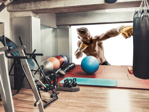Fotomural Gimnasio Chico Cardio Punch Boxeo | Carteles XXL - Impresión carteleria publicitaria