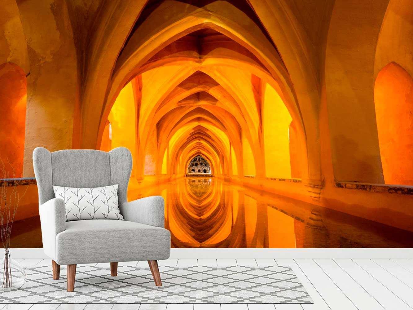 Fotomural Papel Pintado Arcos Góticos | Carteles XXL - Impresión carteleria publicitaria