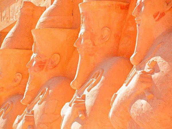 Fotomural Papel Pintado Estatuas Egipto | Carteles XXL - Impresión carteleria publicitaria