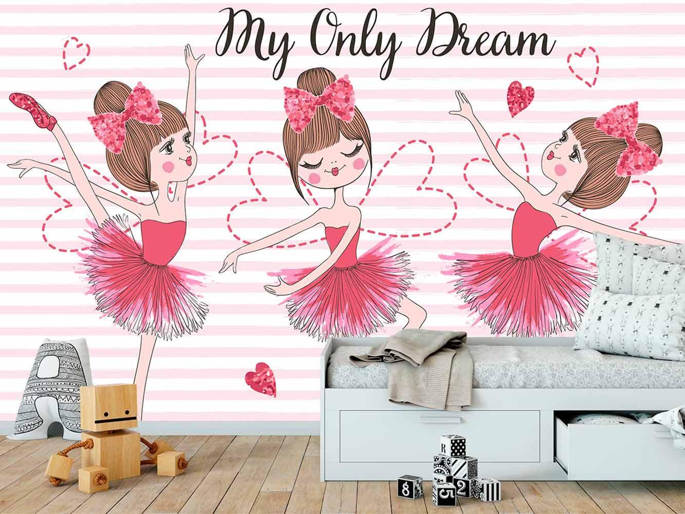 Fotomural Papel Pintado Bailarinas My Only Dream   Carteles XXL - Impresión carteleria publicitaria