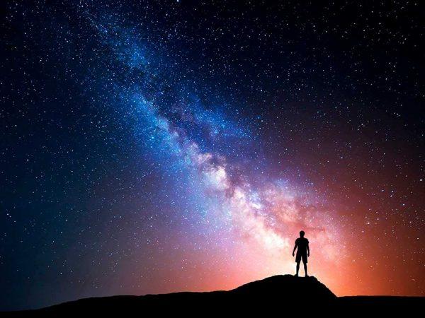 Fotomural Papel Pintado Noche Estrellada | Carteles XXL - Impresión carteleria publicitaria