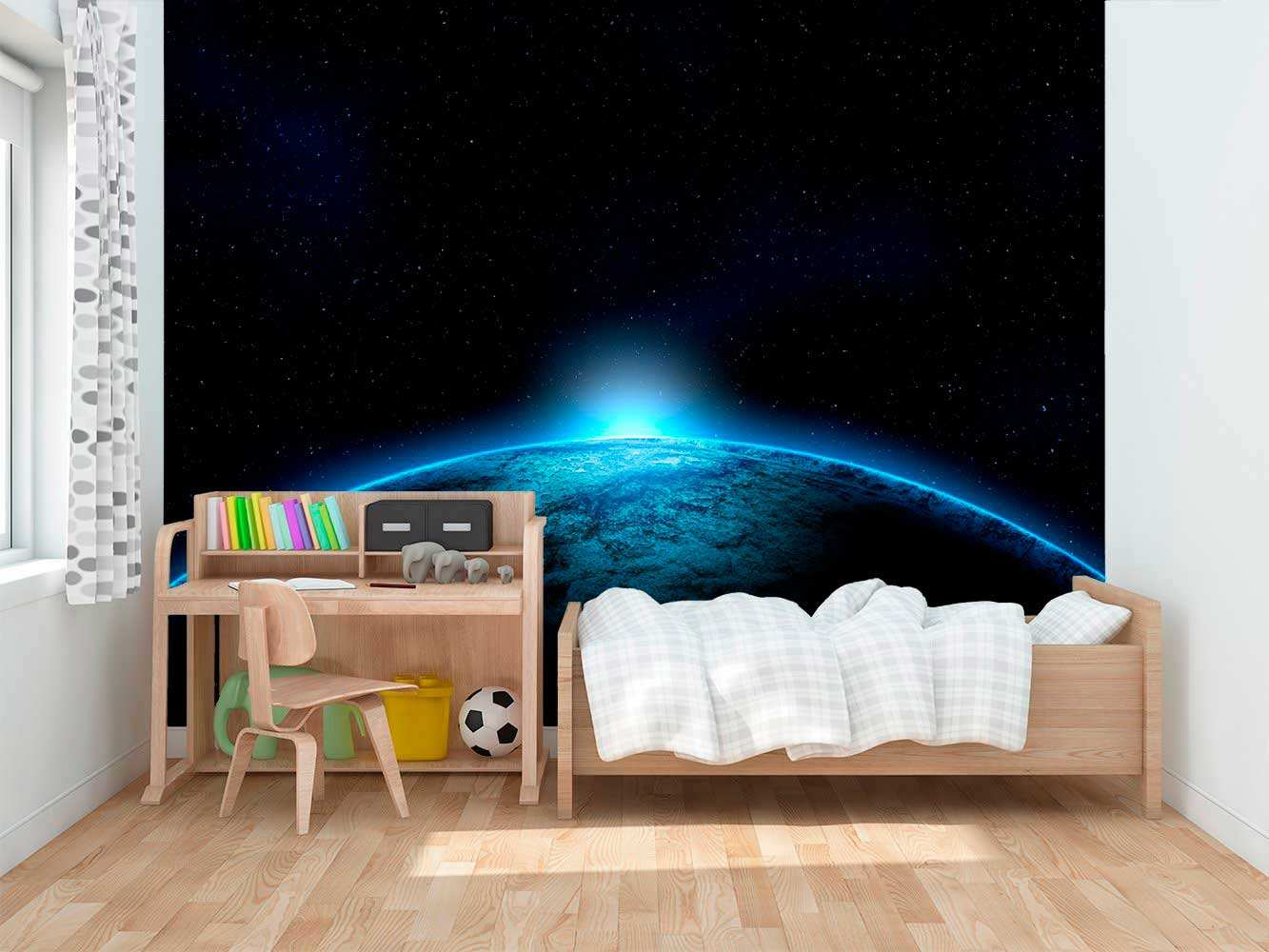 Fotomural Papel Pintado Planeta Espacial | Carteles XXL - Impresión carteleria publicitaria