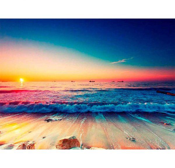 Fotomural Mar al Atardecer   Carteles XXL - Impresión carteleria publicitaria