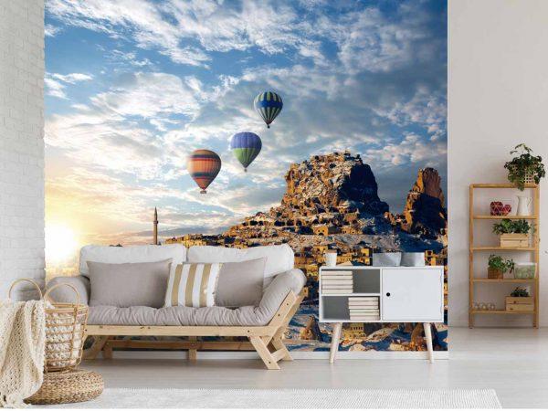 Fotomural Vinilo Amanecer en Turquía | Carteles XXL - Impresión carteleria publicitaria