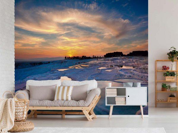 Fotomural Vinilo Anochecer Mar Turquía   Carteles XXL - Impresión carteleria publicitaria
