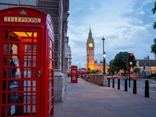 Fotomural Papel Pintado Abadía Westminster Londres | Carteles XXL - Impresión carteleria publicitaria