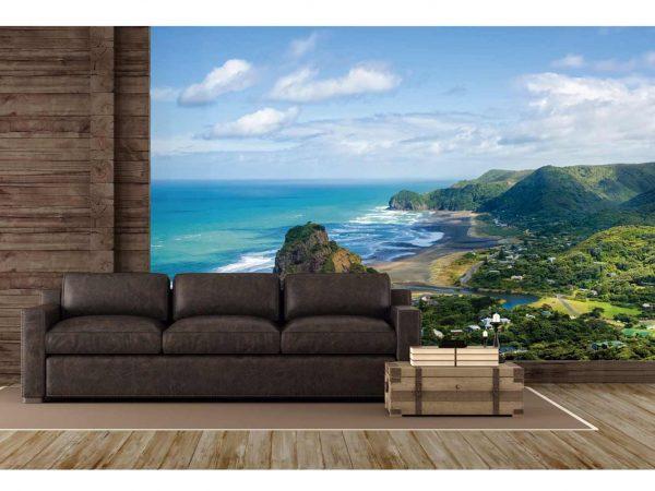 Fotomural Vinilo Costa Nueva Zelanda   Carteles XXL - Impresión carteleria publicitaria