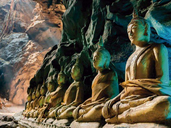 Vinilo Frigorífico Budas en Cueva Tailandia | Carteles XXL - Impresión carteleria publicitaria