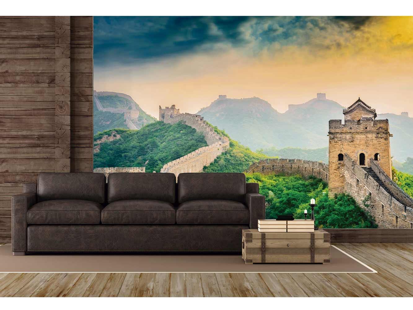 Fotomural Vinilo Gran Muralla China | Carteles XXL - Impresión carteleria publicitaria