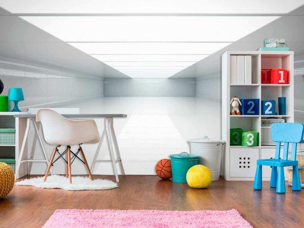 Fotomural Vinilo Infantil Habitación Futurista   Carteles XXL - Impresión carteleria publicitaria
