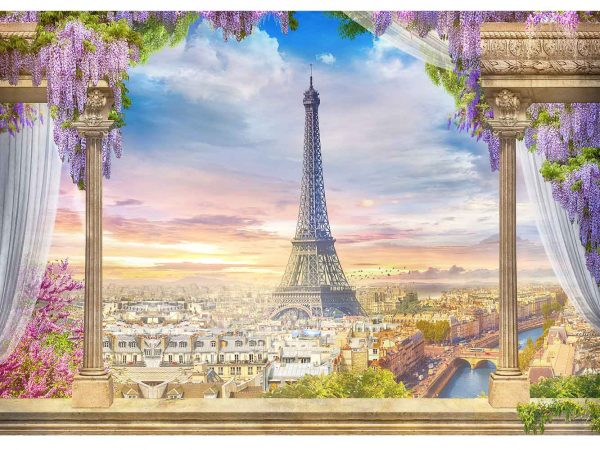 Fotomural Vinilo Mirador París | Carteles XXL - Impresión carteleria publicitaria