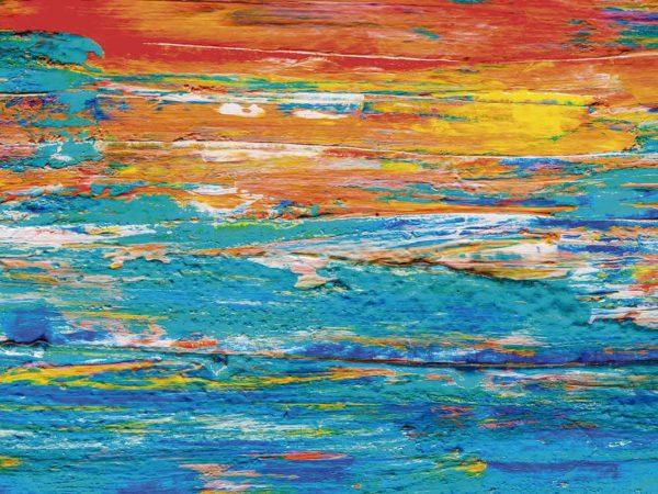 Fotomural Vinilo Pinceladas Multicolor   Carteles XXL - Impresión carteleria publicitaria