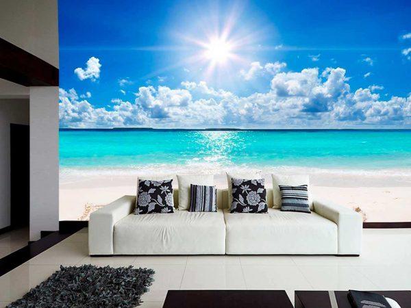 Fotomural Papel Pintado Playa Relax | Carteles XXL - Impresión carteleria publicitaria