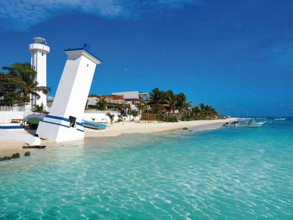 Fotomural Vinilo Playa Riviera Maya | Carteles XXL - Impresión carteleria publicitaria