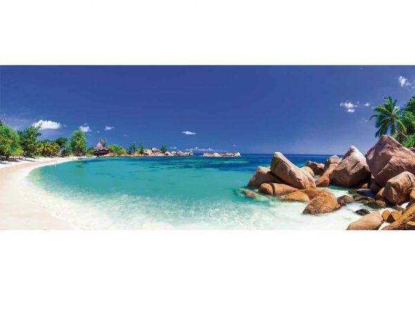Fotomural Vinilo Playa Tropical Rocosa   Carteles XXL - Impresión carteleria publicitaria