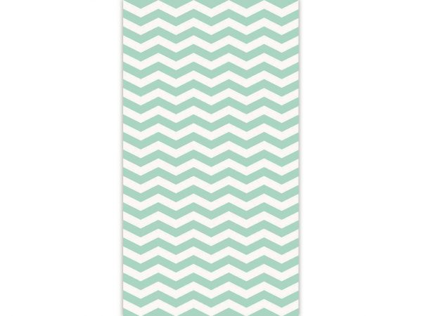 Papel Pintado Zigzag Verde | Carteles XXL - Impresión carteleria publicitaria