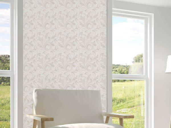 Papel Pintado Floral Beige | Carteles XXL - Impresión carteleria publicitaria