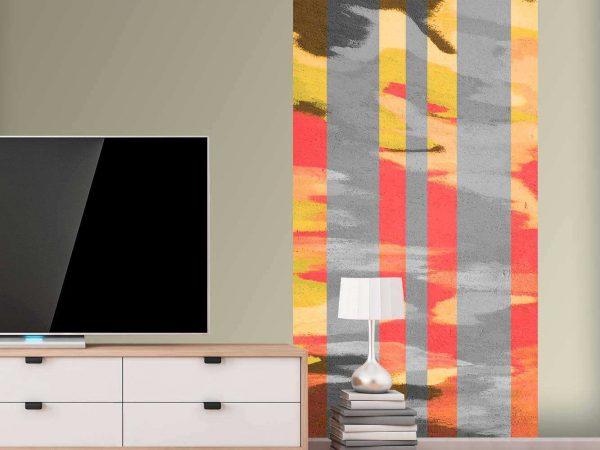Cenefa Vertical Pared Abstracta | Carteles XXL - Impresión carteleria publicitaria