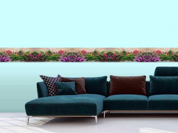 Cenefa Horizontal Temática Jardín | Carteles XXL - Impresión carteleria publicitaria