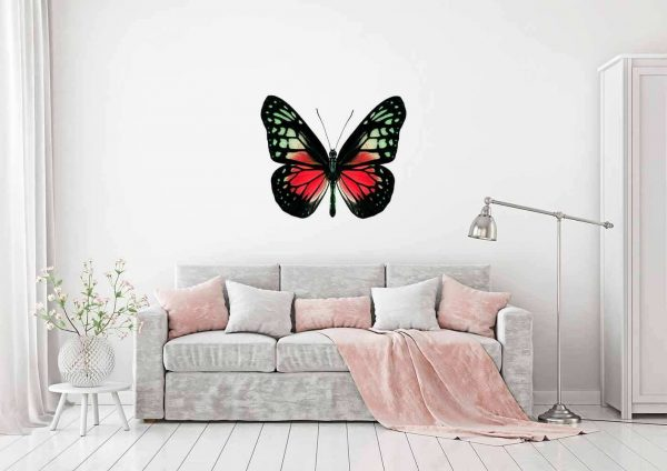 Vinilo Decorativo Mariposa Roja | Carteles XXL - Impresión carteleria publicitaria
