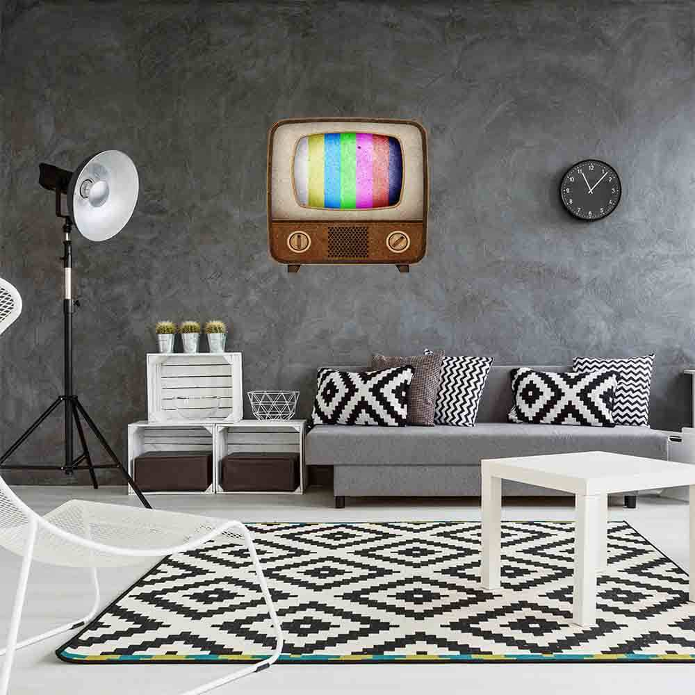 Vinilo Decorativo Retro Televisor Vintage | Carteles XXL - Impresión carteleria publicitaria