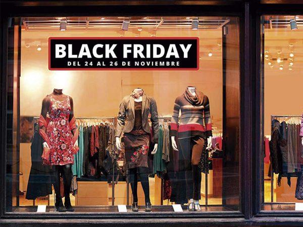 Pack Vinilo Escaparate Black Friday | Carteles XXL - Impresión carteleria publicitaria