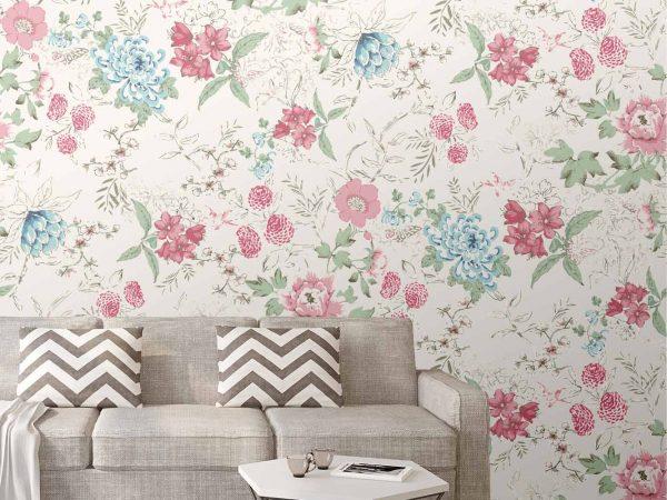 Fotomural Papel Pintado Arte Motivo Floral | Carteles XXL - Impresión carteleria publicitaria