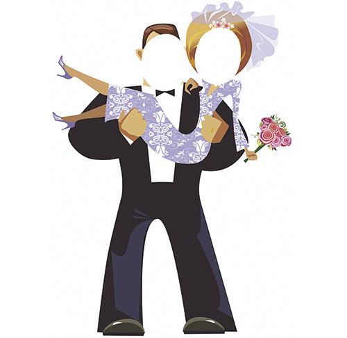 Photocall novios boda | Carteles XXL - Impresión carteleria publicitaria