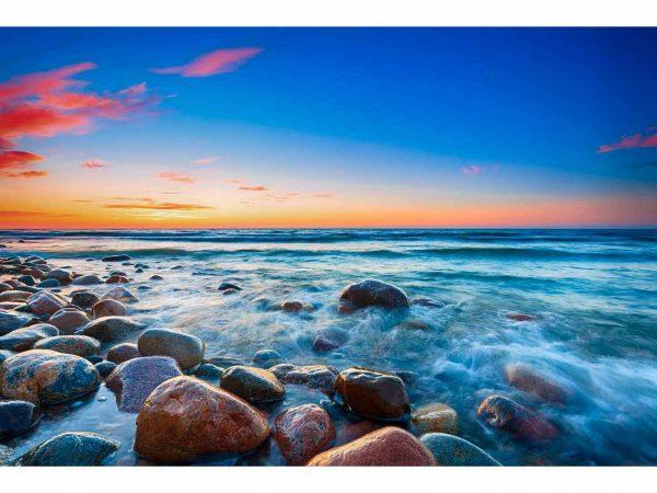 Vinilo Frigorífico Rocas Playa | Carteles XXL - Impresión carteleria publicitaria