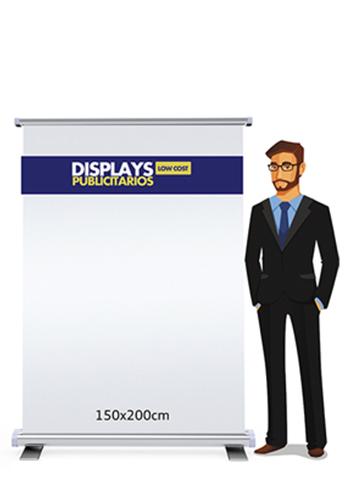 Rollup publicitario 150x200cm | Carteles XXL - Impresión carteleria publicitaria