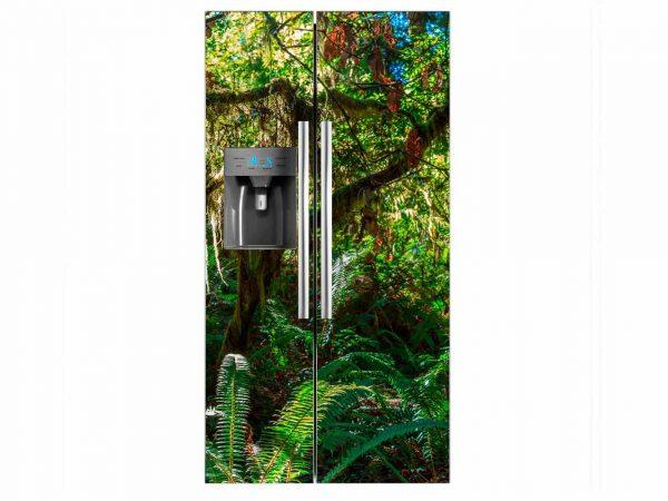 Vinilo Frigorífico Selva Tropical | Carteles XXL - Impresión carteleria publicitaria