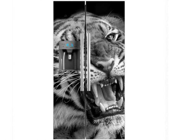 Vinilo Frigorífico Tigre Feroz | Carteles XXL - Impresión carteleria publicitaria