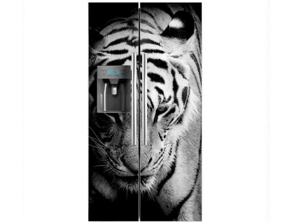 Vinilo Frigorífico Tigre Manso | Carteles XXL - Impresión carteleria publicitaria
