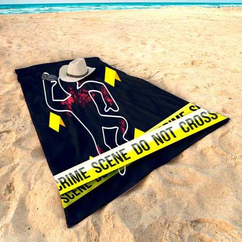 Toalla Microfibra Personalizada Crimen   Carteles XXL - Impresión carteleria publicitaria