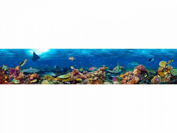 Vinilo Frigorífico Americano Tortuga Arrecife | Carteles XXL - Impresión carteleria publicitaria