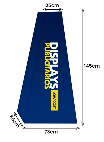 Tótem Giza 73x145cm | Carteles XXL - Impresión carteleria publicitaria