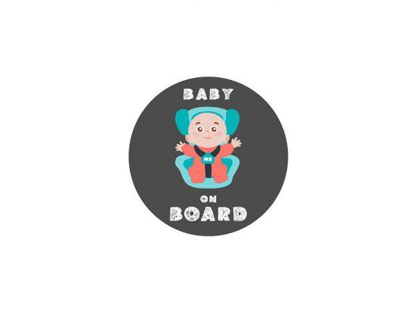Vinilo Pegatina Coche Baby On Board | Carteles XXL - Impresión carteleria publicitaria