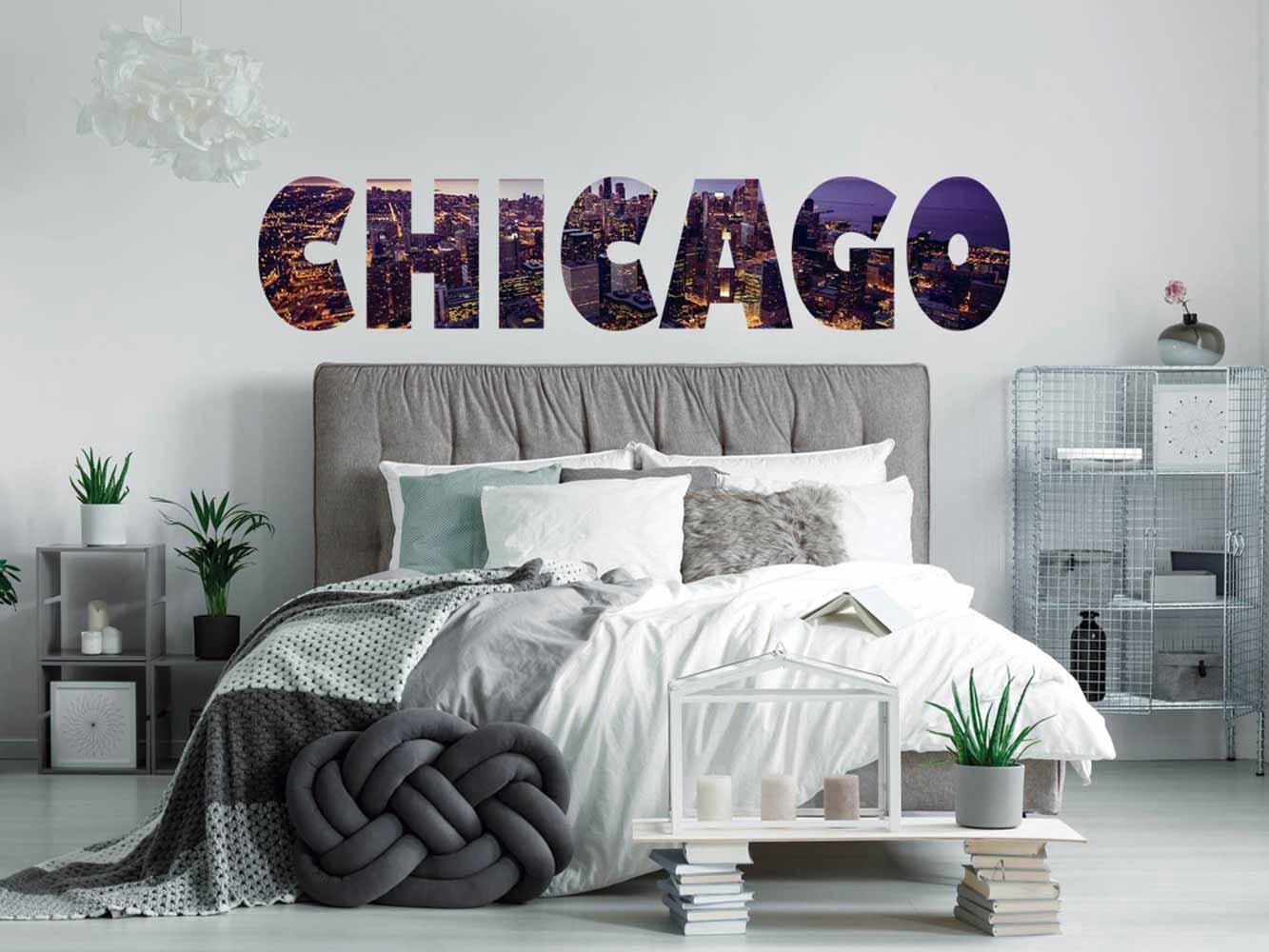 Vinilo Decorativo Ciudades Chicago | Carteles XXL - Impresión carteleria publicitaria