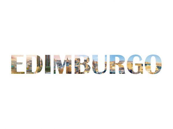 Vinilo Decorativo Ciudades Edimburgo 2 | Carteles XXL - Impresión carteleria publicitaria