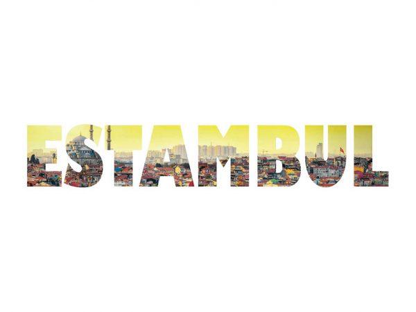 Vinilo Decorativo Ciudades Estambul | Carteles XXL - Impresión carteleria publicitaria