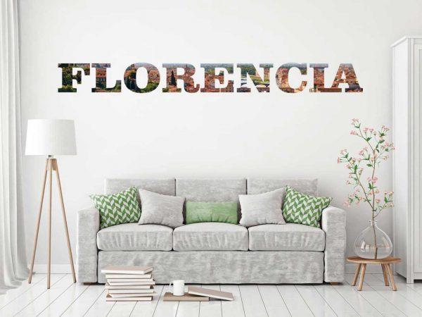 Vinilo Decorativo Ciudades Florencia | Carteles XXL - Impresión carteleria publicitaria