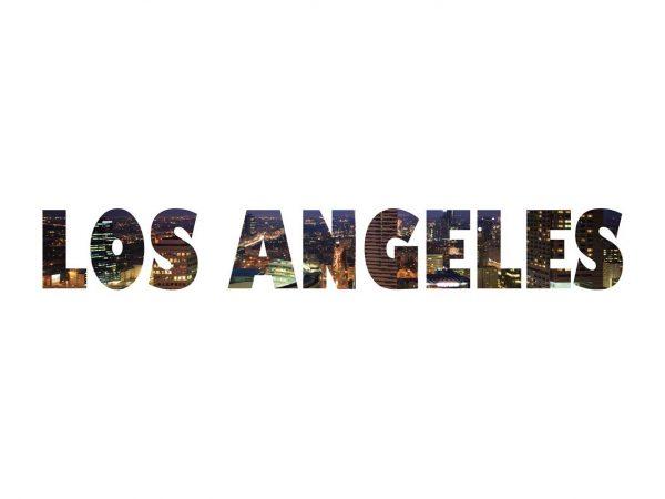 Vinilo Decorativo Ciudades Los Ángeles | Carteles XXL - Impresión carteleria publicitaria