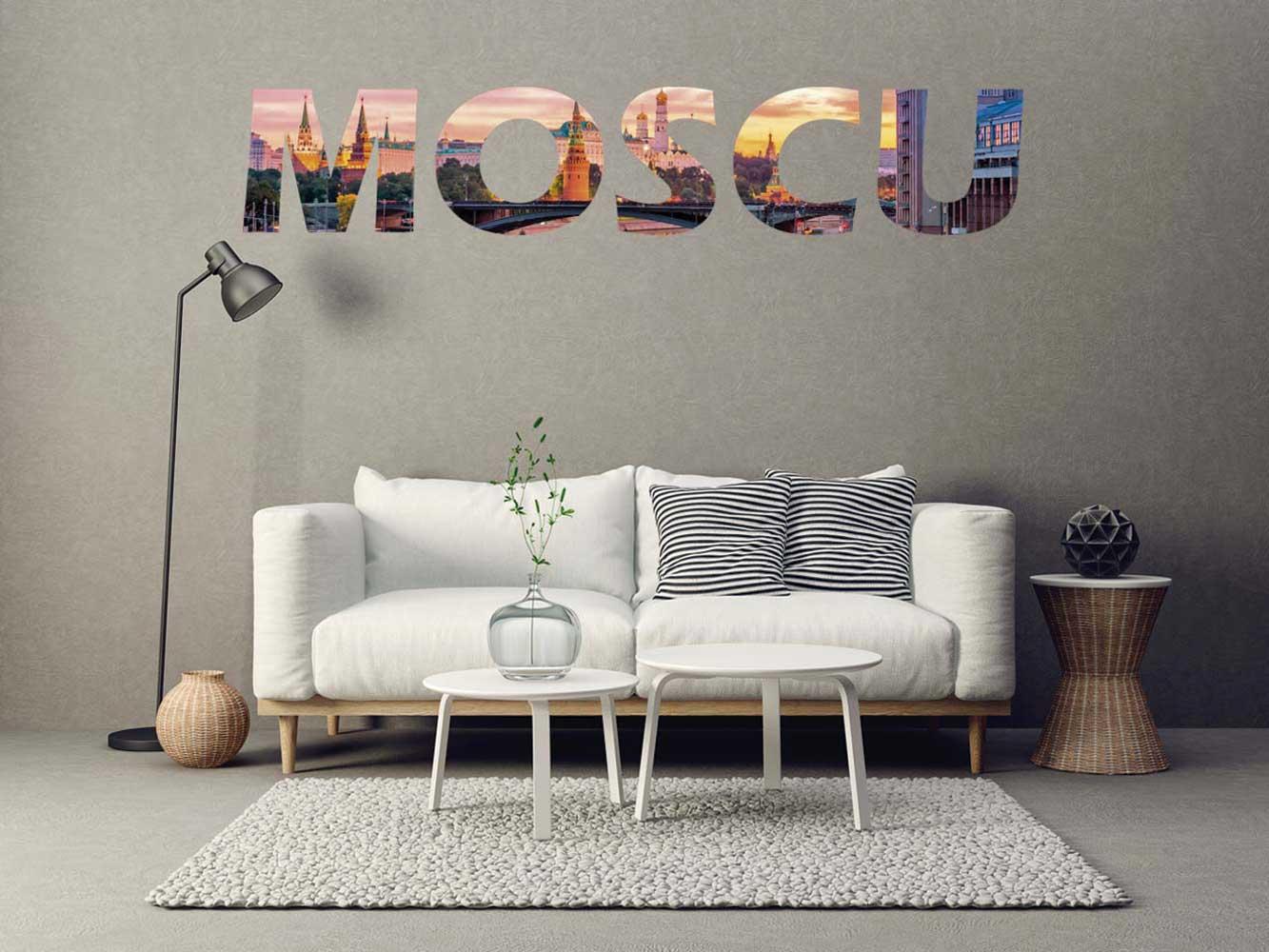 Vinilo Decorativo Ciudades Moscú | Carteles XXL - Impresión carteleria publicitaria