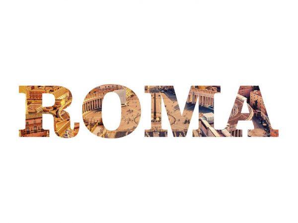 Vinilo Decorativo Ciudades Roma | Carteles XXL - Impresión carteleria publicitaria