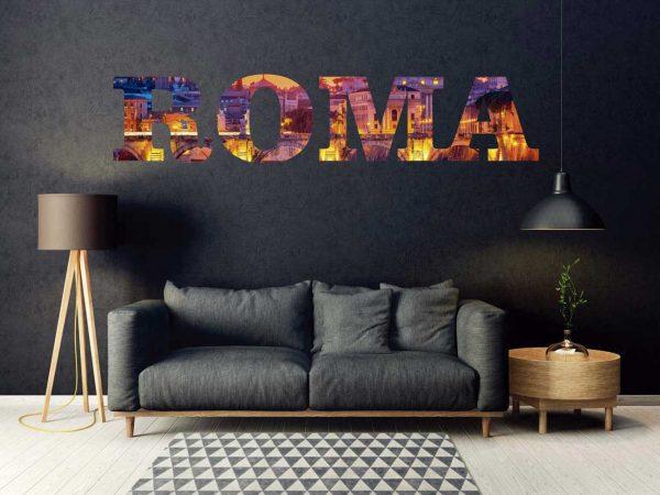 Vinilo Decorativo Ciudades Roma 2 | Carteles XXL - Impresión carteleria publicitaria