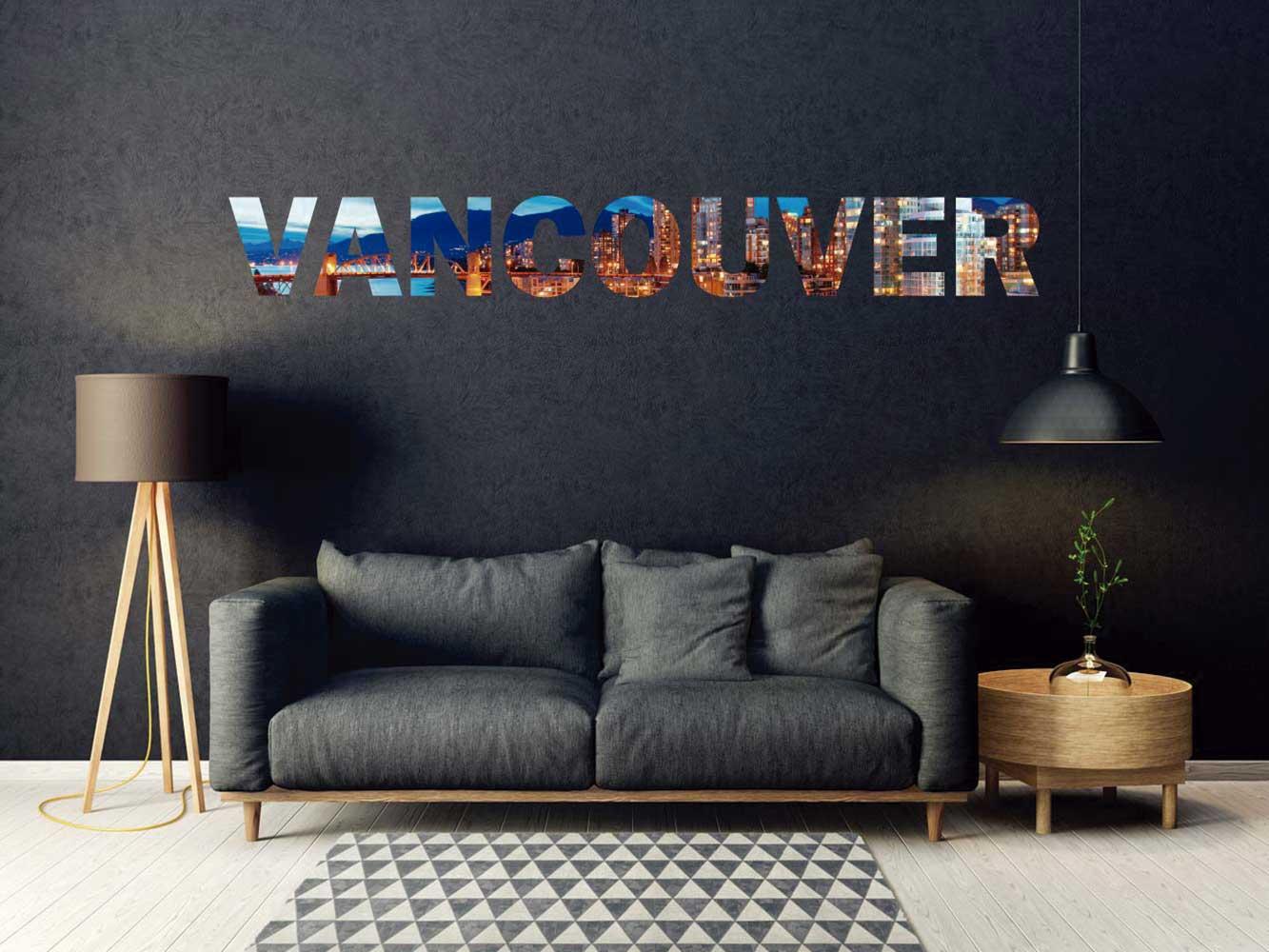 Vinilo Decorativo Ciudades Vancouver | Carteles XXL - Impresión carteleria publicitaria