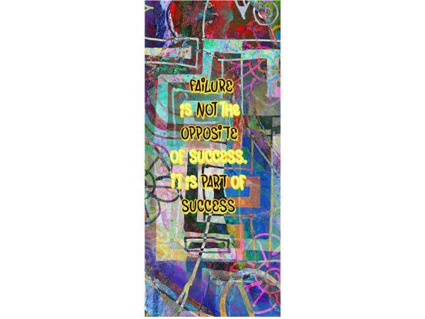 Vinilo Decorativo Escaleras Superación | Carteles XXL - Impresión carteleria publicitaria