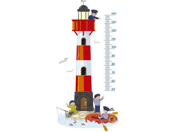Vinilo Decorativo Infantil Faro Medidor | Carteles XXL - Impresión carteleria publicitaria