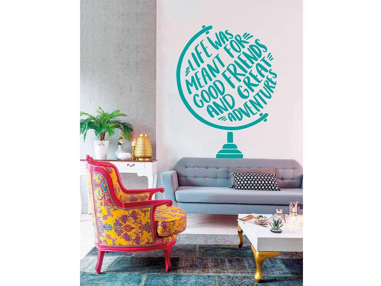 Vinilo Frases Good Friends | Carteles XXL - Impresión carteleria publicitaria