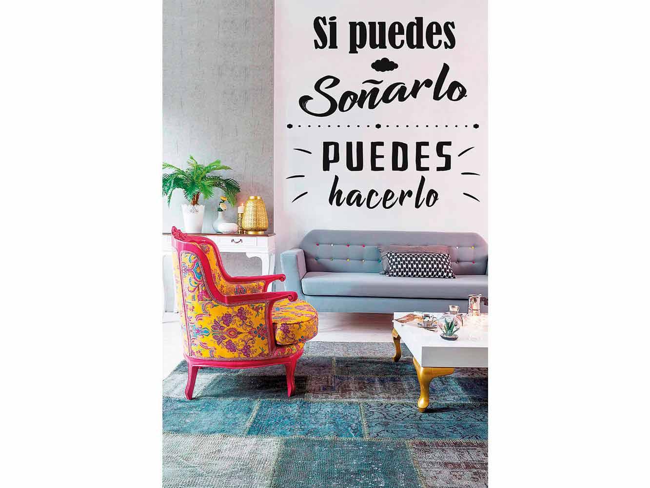 Vinilo Frases Si Puedes Soñarlo | Carteles XXL - Impresión carteleria publicitaria